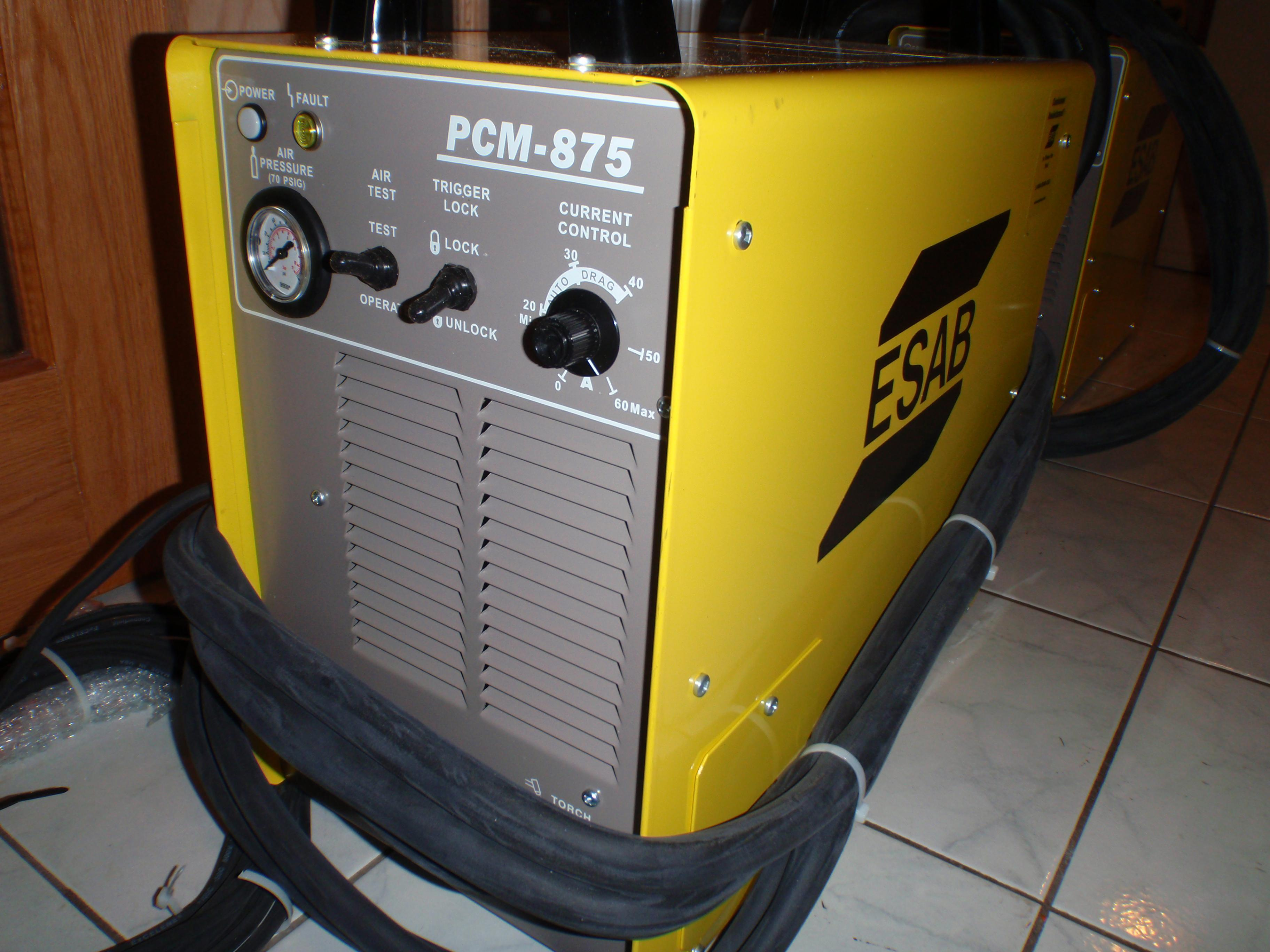 324x400 324 x 4... Esab Powercut